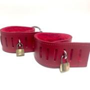 Kookie Fleece Lined Wrist Cuffs w/lock