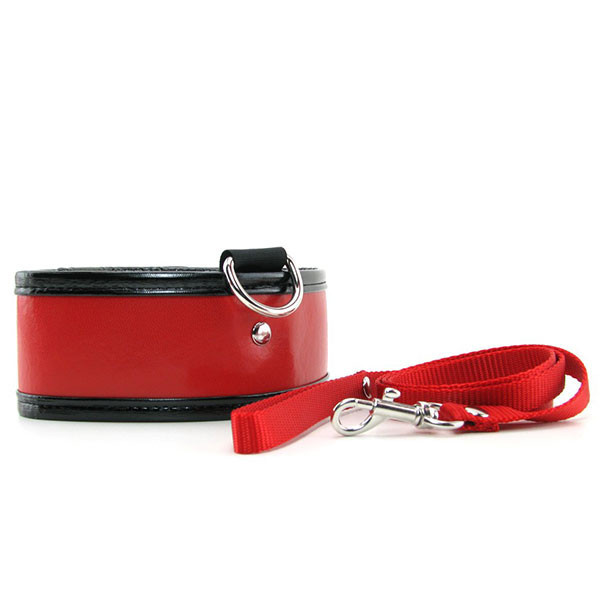 Sex & Mischief Red Collar And Leash