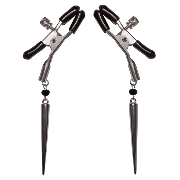 Silver Spear Nipple Clamps