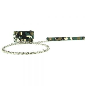 Kinky Camo Leash & Collar