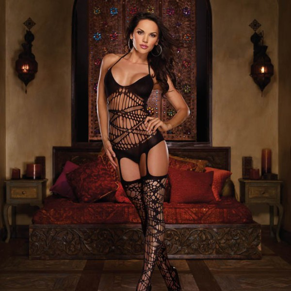 Dreamgirl 0164 Teddy Bodystocking