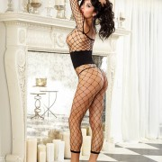 Dreamgirl 0207 Corset Net Bodystocking