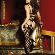 HOT 90329 Big Hole Net Bodystocking