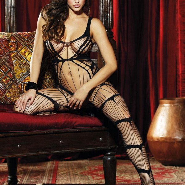 HOT 90342 Strappy Bodystocking