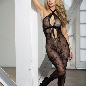 HOT 90380 Lace Bodystocking