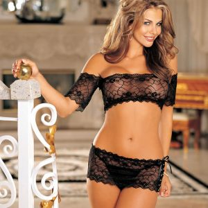 HOT 96142 Lace 3 Piece Set