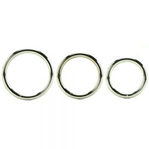 Manbound Metal Ring 3 pack