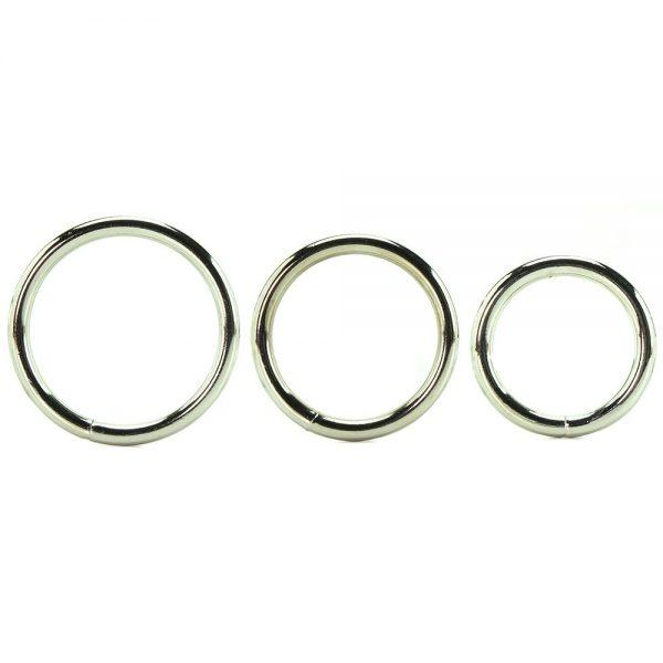 Manbound Metal Ring 3 pack