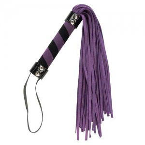 Punishment 18″ Suede Flogger