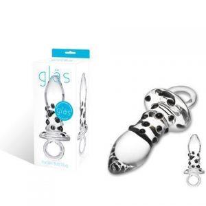 Glas Pacifier Plug