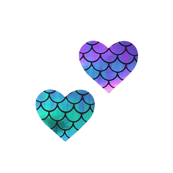 Mermaid Heart Pasties