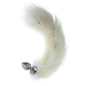 Nobu Fox Tail Plug White
